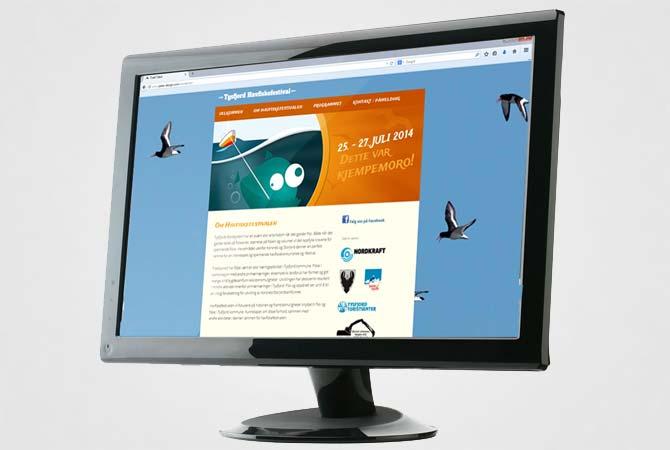 Tysfjord havfiskefestival nettside