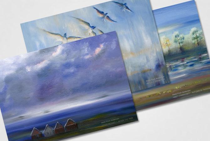 Heidi Frich Andersen kunstkort