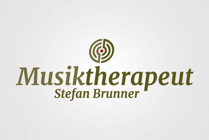 brunner musiktherapeut logodesign