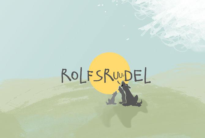 rolfsrudel logodesign