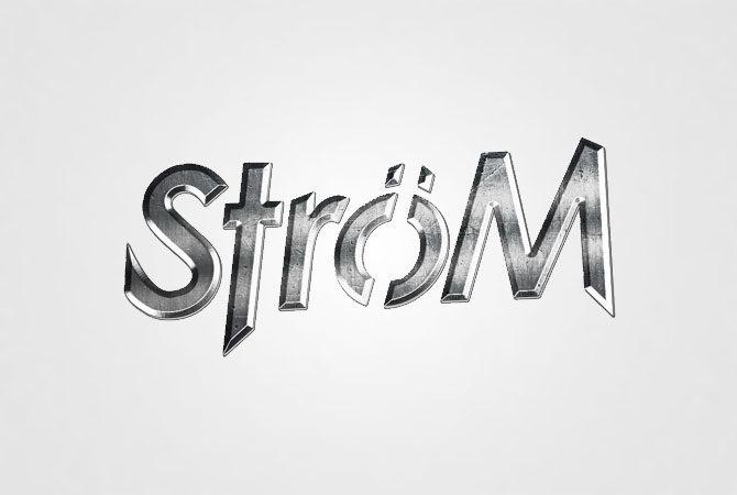 strøm - logo