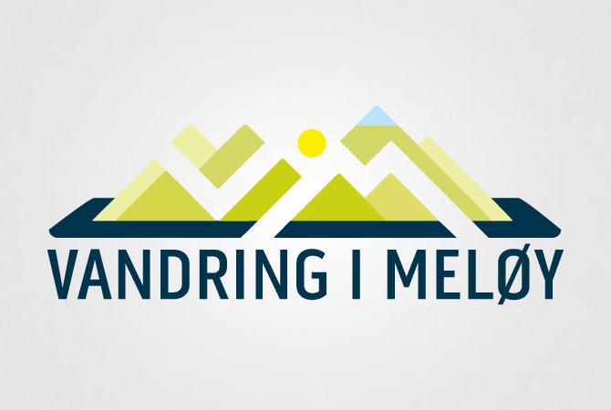 vim, vandring i Meløy logo