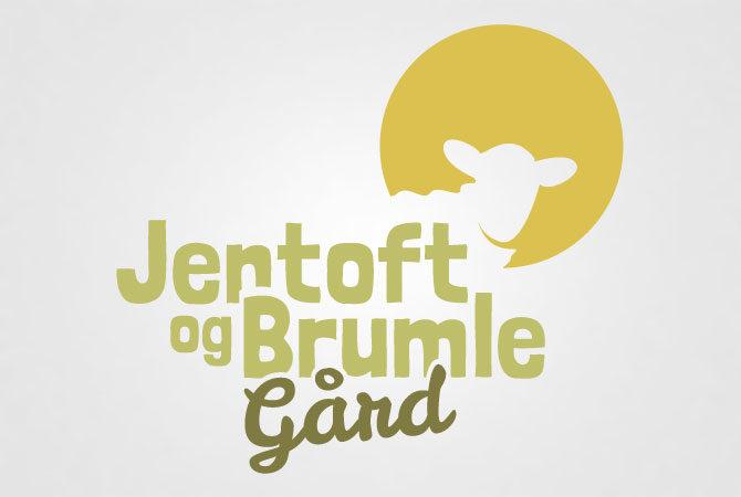 jentoft og brumle gård logo