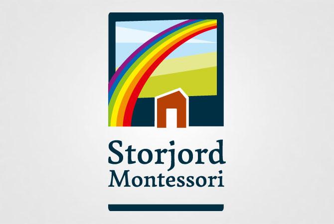 Storjord montessori logo